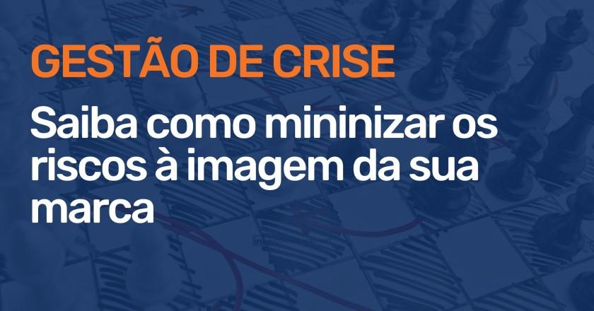 Importância da gestão de crise